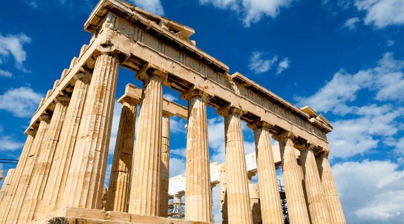nakupování v Řecku