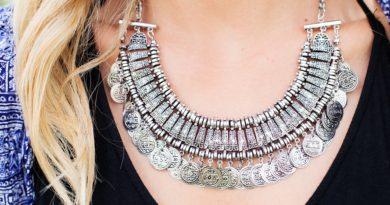 doplněk náhrdelník